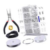 1 Box Schmuck, Der Starter Kit Set für Ohrringe Armband Halskette Erkenntnisse DIY Crafting