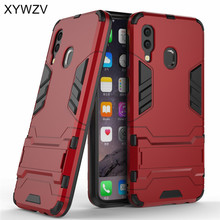 For Samsung Galaxy A40 Case Armor Soft Silicone Rubber Hard PC Phone Cover Fundas