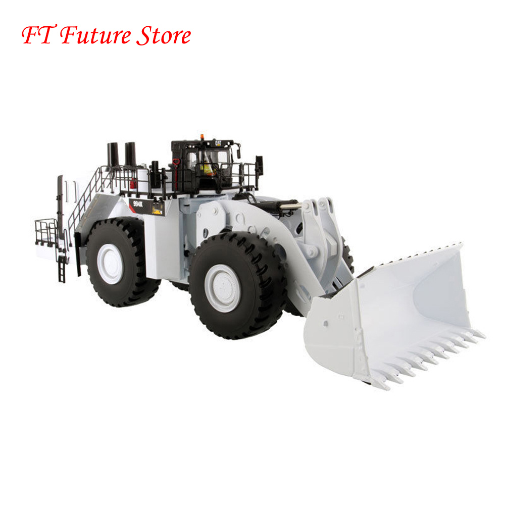 New Collectible Gift 1:50 Car Model Toys 994K Engineering Trucks Diecast Wheel Loader 1/50 White Model Toy 85533 Boxed Car Toys