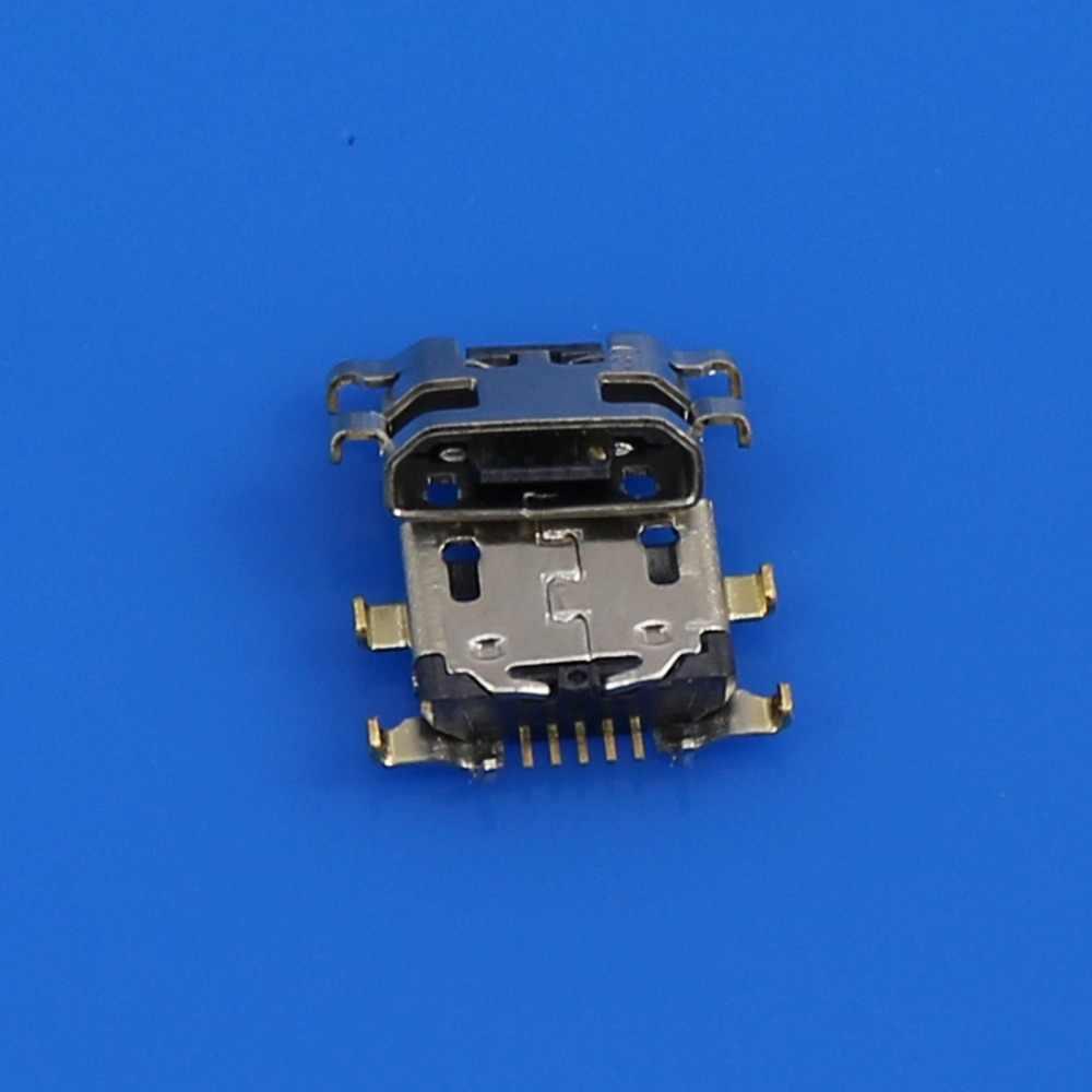 Decyzja wspólnego komitetu eog gniazdo Micro USB gniazdo ładowania złącze portu wymiana części naprawa dla lenovo K5 uwaga dla redmi 5 plus dla Meizu m6