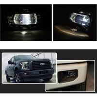 2PCS 4.5inch Fog Lights Car Fog lamp Projector LED Fog Lights Lamps for F150 Truck Pickup 2015 2018