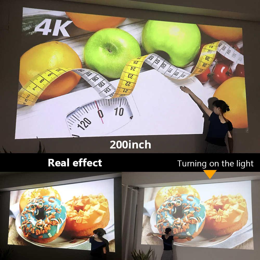 BYINTEK מיני 3D מקרן P12, אנדרואיד 6.0, חכם Wifi כיס נייד וידאו Beamer, LED DLP לייזר נייד מקרן עבור Smartphone