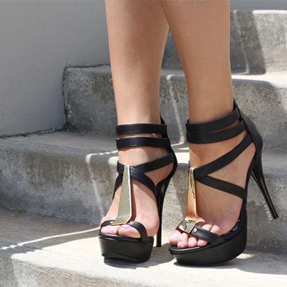ФОТО Sexy high heel sandals waterproof platform peep-toe shoes heel strap Rome women shoes