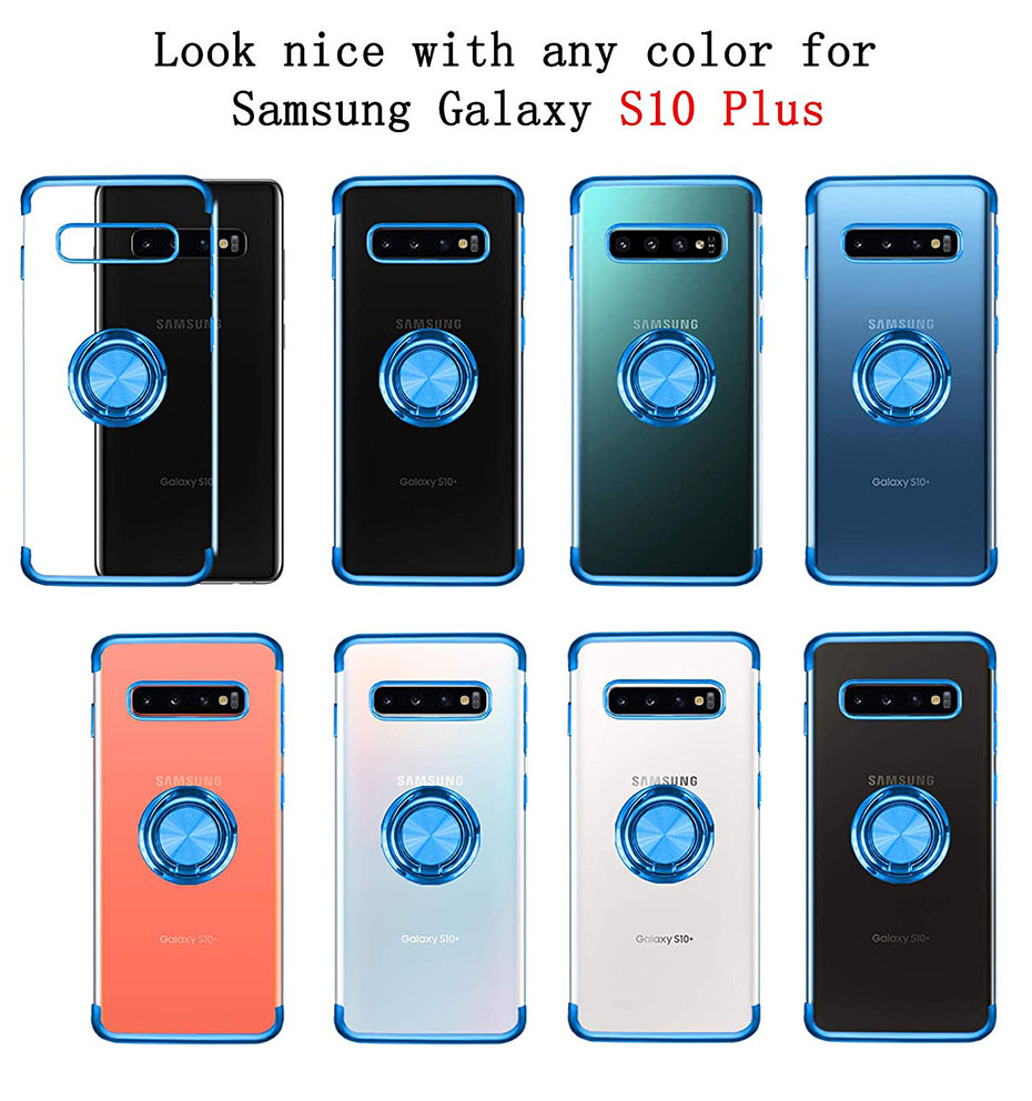 Samsung S10 Plus Case With Ring Stand