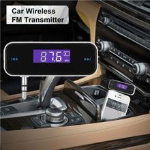 Авто громкой связи вызова fm-модулятор ЖК-дисплей Дисплей автомобильные аксессуары fm-передатчик 3,5 AUX смартфон модулятор