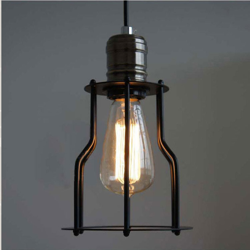 Vintage traditional 15cm pendant lights American country Loft Iron style pendant lightlighting fixture pendant lamp GY260 lo1021 led lamp creative lights fabric lampshade painting chandelier iron vintage chandeliers american style indoor lighting fixture