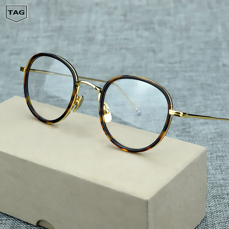 2017 high quality Retro glasses frame T905 Goggles Myopic computer Glasses transparent oculos de grau men