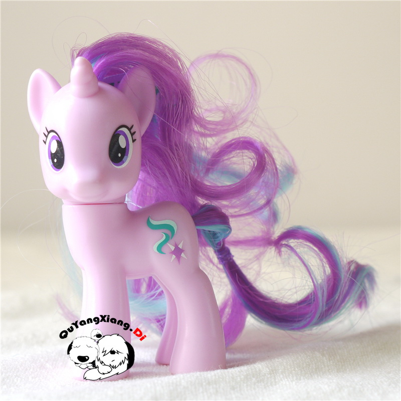 P8-106 Action Figures 8cm Little Cute Horse Model Doll Starlight Glimmer Anime Toys for Children(China)