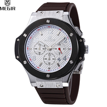 MEGIR Men Digital Quartz Watches Hot Sale Brand Sport Watch Top Quality Military Luxury Military Watches