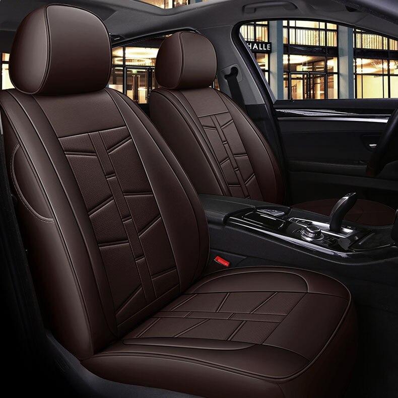 custom cowhide 7 seats car seat cover for Kia Carnival Sorento Carens Borrego VQ Ford Explorer EVEREST Edge car accessories
