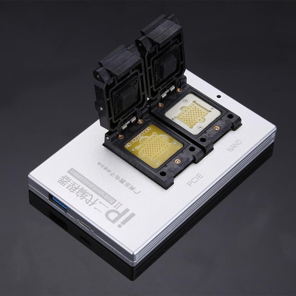 Mais recente CAIXA de IP V2 Alta Velocidade Programador NAND PCIE SN Read Write para iPhone 5 5S 6 6 p 6 s 6SP 7 7 p Todas As Ferramentas de Reparo Do Telefone iPad