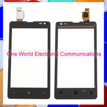 Black 4.0″ New For Nokia Microsoft Lumia 435 532 Phone Touch Screen Touch Panel Digitizer Sensor Front Glass Lens Tracking Code