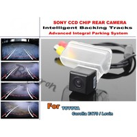 For TOYOTA Corolla E170 / Levin HD Back up Reverse Camera / Rear View Camera Car Intelligent Parking Tracks Camera CCD