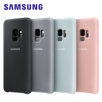 Samsung Galaxy S9 S 9 Plus Original Silicone Case Cover Luxury Cute Shockproof 360 Protective Protection