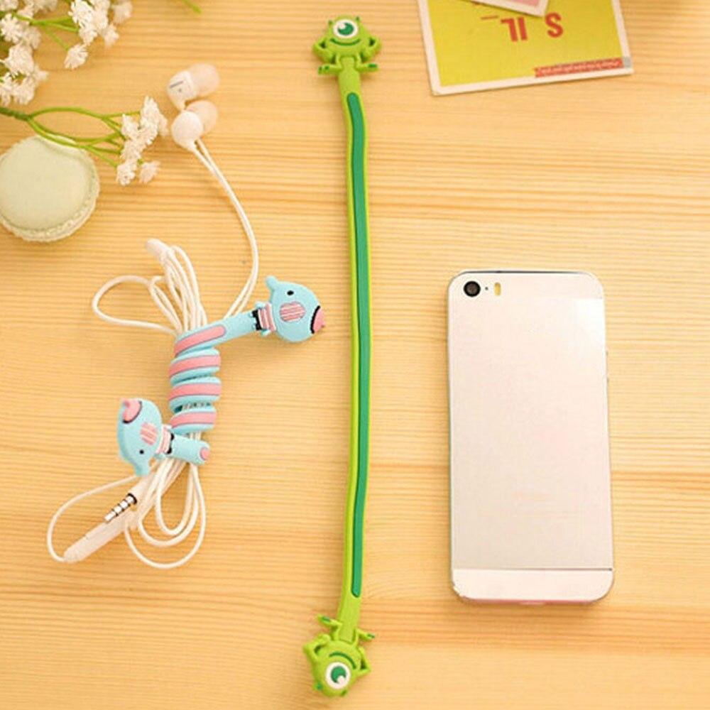 для наушники спикерорганайзер Protetor de Кабо Для iPhone намотки управления кабель для Xiaomi Huawei стильная футболка с изображением персонажей видеои...