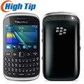 Original Entriegelt BlackBerry Curve 9320 GPS WIFI GSM 3G QWERTY Tastatur WIFI 3,2 MP Renoviert Handy Freies verschiffen