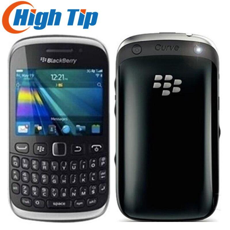 Original débloqué BlackBerry courbe 9320 GPS WIFI GSM 3G clavier QWERTY WIFI 3.2MP remis à neuf téléphone Mobile livraison gratuite