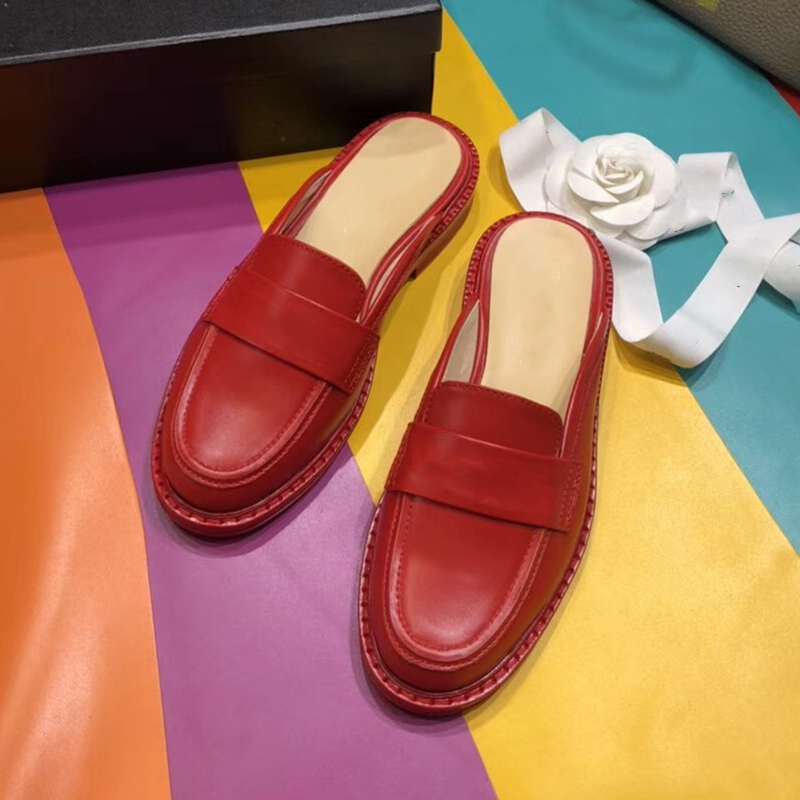 Designer Brand Fashion Mules for Female Slippers All Leather Women Flat Platform Loafers 2019 Hot Sale Woman Jelly Shoes AutumnDesigner Brand Fashion Mules for Female Slippers All Leather Women Flat Platform Loafers 2019 Hot Sale Woman Jelly Shoes Autumn