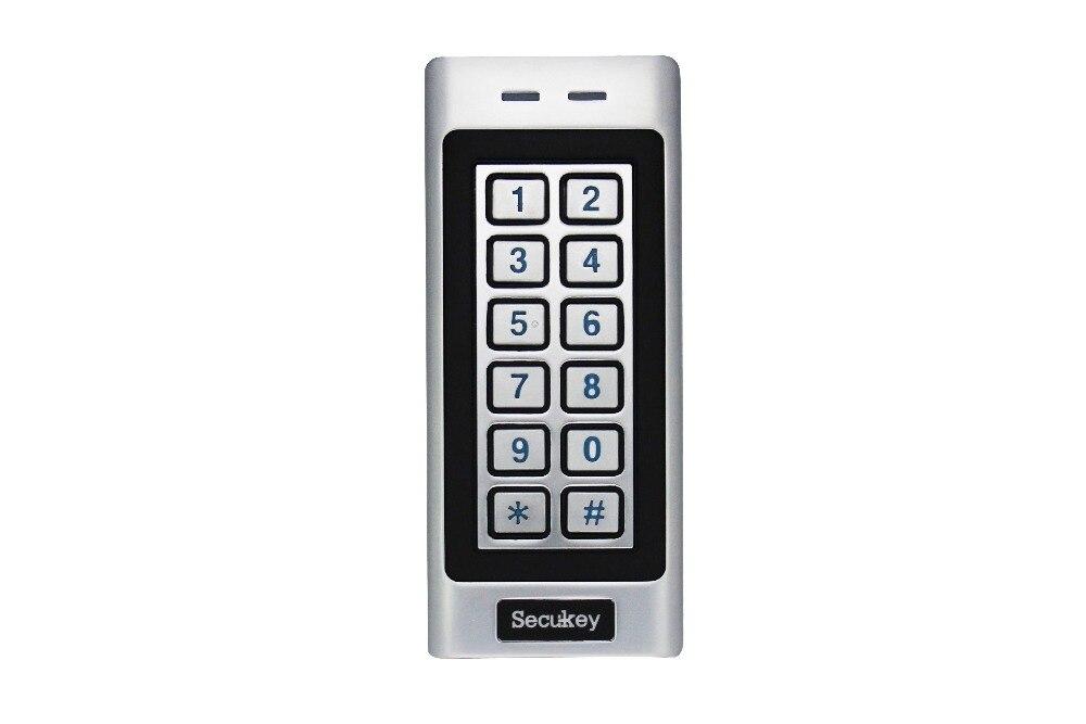 SK4-R EM Metal Case W26 Waterproof Access Control Keypad 125KHz RFID Reader Free Shipping