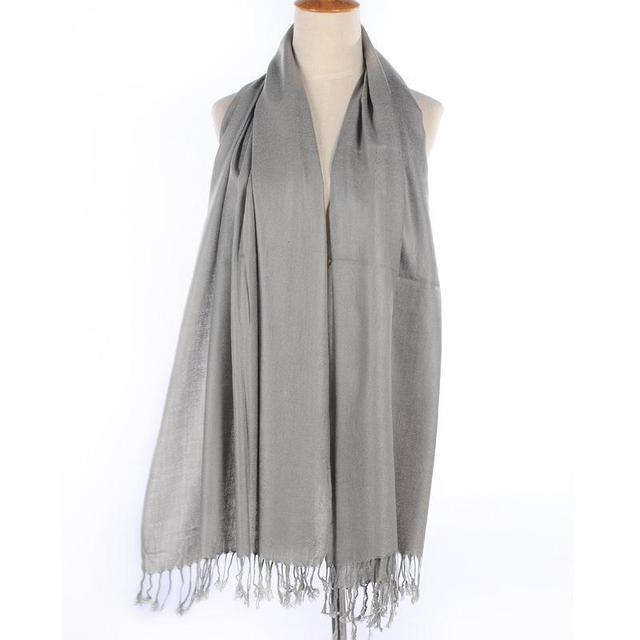 ПРОДАЖА 20 ЦВЕТОВ кашемир шерсть шарфы Кисточкой шали пашмины bufandas Испания Толстые твердые женщины и мужчины зимние шарфы