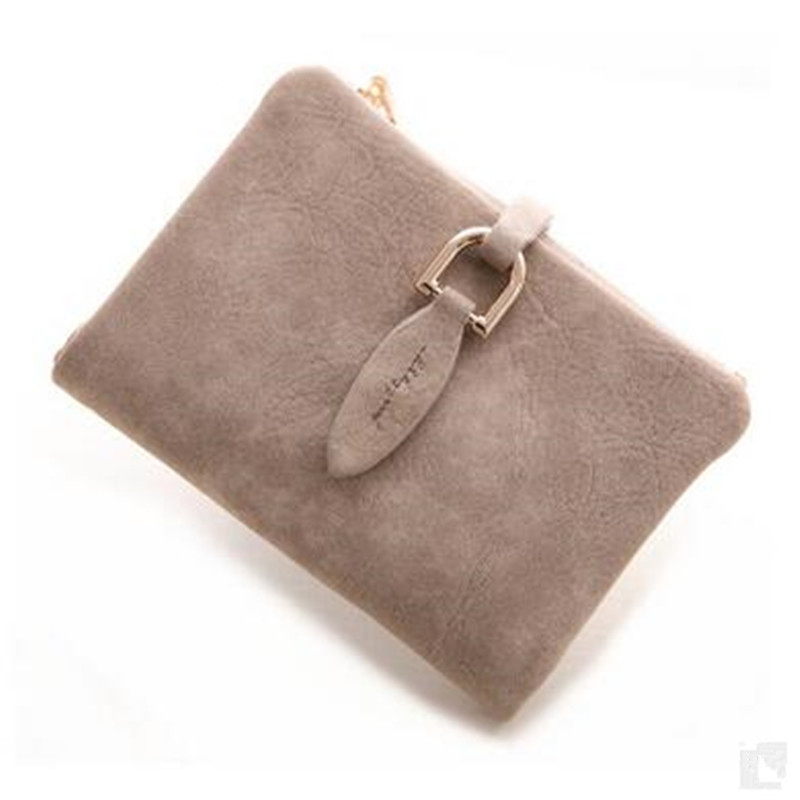 Leaf Hasp Leather Clutch Wallet Vintage Matte Women Wallet Fashion Small Female Purse Short Section Coin Card Holder Mini QL new vintage matte women wallet fashion female small luxury purse carteras mujer femininas card holder money short wallet purse