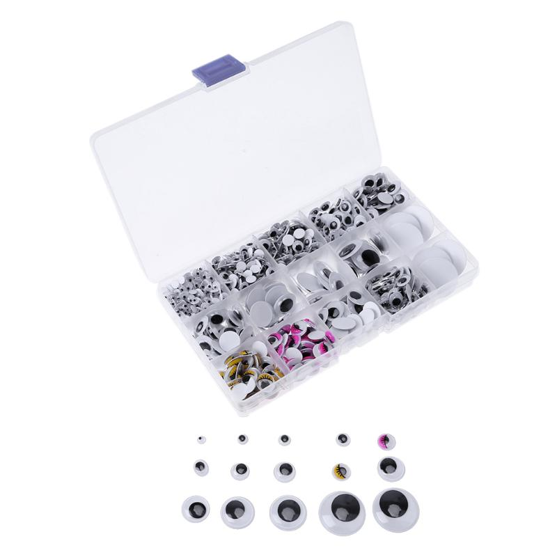 Googly Eyes Craft Supplies 1.5 Inch Pack of 8