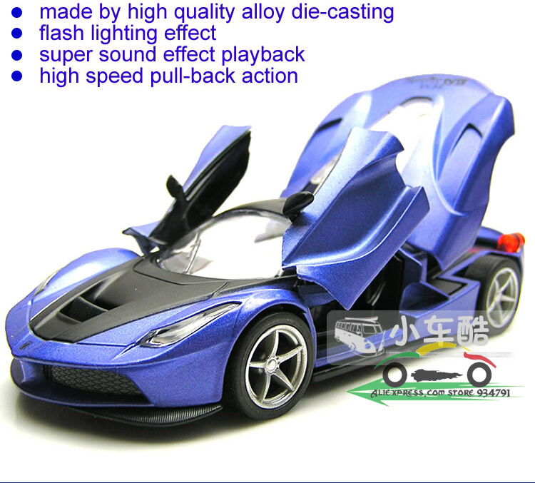 2014 Cool Sports Car Model Car Toy Car Scissor Doors Shengguangxiaoguo  Alloy Back Three Door Childrenu0027s Educational In Diecasts U0026 Toy Vehicles  From Toys ...