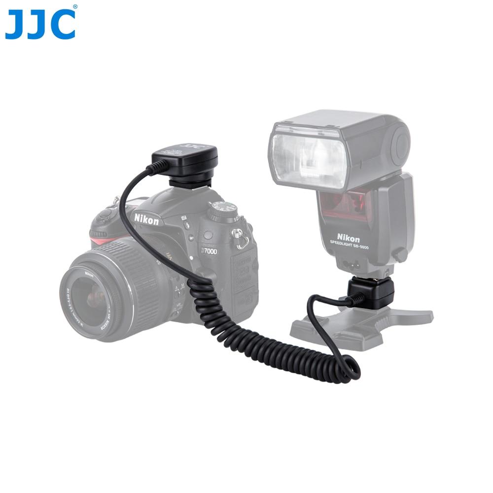 JJC 1.3m TTL Off Camera Flash Cords Hot Shoe Sync Remote Light Focus Cable for Nikon D series DSLR Speedlites SB-5000/SB-800