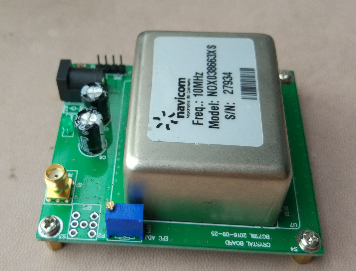 10MHz OCXO Constant Temperature Crystal Frequency Reference Plate hc 49smd 49smd 10m 10mhz 10 000mhz