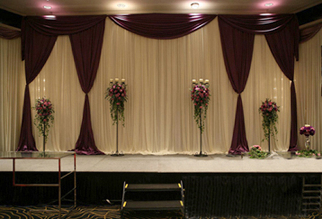Curtain decorations for weddings curtain menzilperde net for Backdrops for stage decoration
