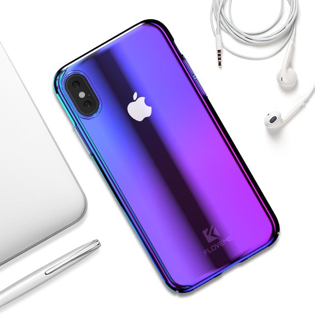 Luxury Gradient Light Hard Case – Apple iPhone