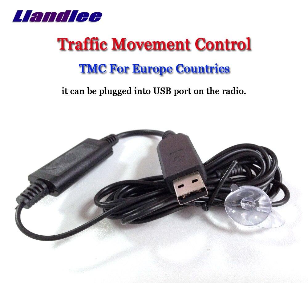 Liandlee Carro TMC (Traffic Message Channel Para Países Da Europa) mini Receptor Dongle USB Para Módulo GPS Navi Sistema de Navegação