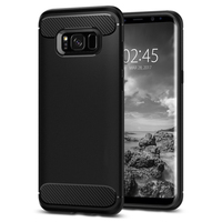 RINGKE Case For Galaxy S8 ONYX RUGGED ARMOR Flexible Durable Anti Slip TPU Defensive Cases For