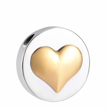 IJD10048 Round with Heart Stainless Steel Memorial Cremation Pendant for Ashes Urn Keepsake Souvenir Necklace Jewelry стоимость