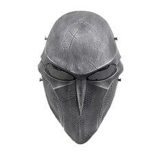 Страшная маска для страйкбола, пейнтбола, черепа смерти, маска для косплея, маски на Хэллоуин, сетчатая армейская Военная Тактическая Маска для военных игр