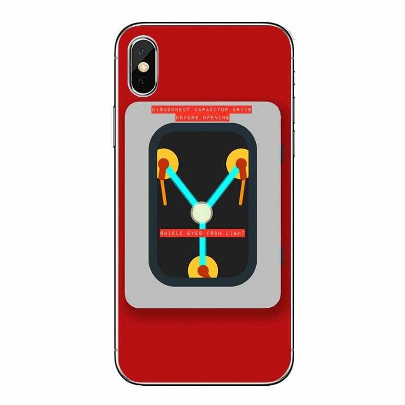 Для Xiaomi mi A1 A2 5X6X8 lite SE Pro Max mi x 2 2 S 3 S mi 5 mi 5S прозрачный мягкий чехол Чехлы конденсатор с алюминиевой крышкой, Back To The Future