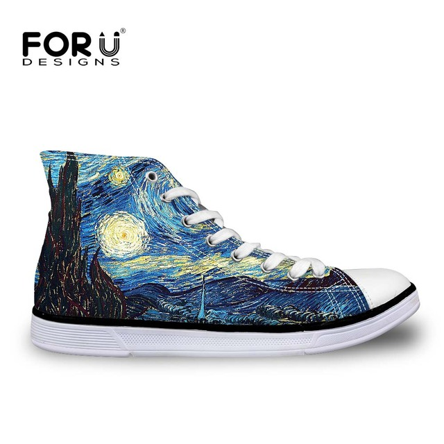 Classic Women Art Design Vulcanized Shoes