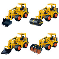 Original RC Engineering Truck Simulation Pace Cars Pressure Road Vehicle Grasping Wooden Car Forklift High Performance