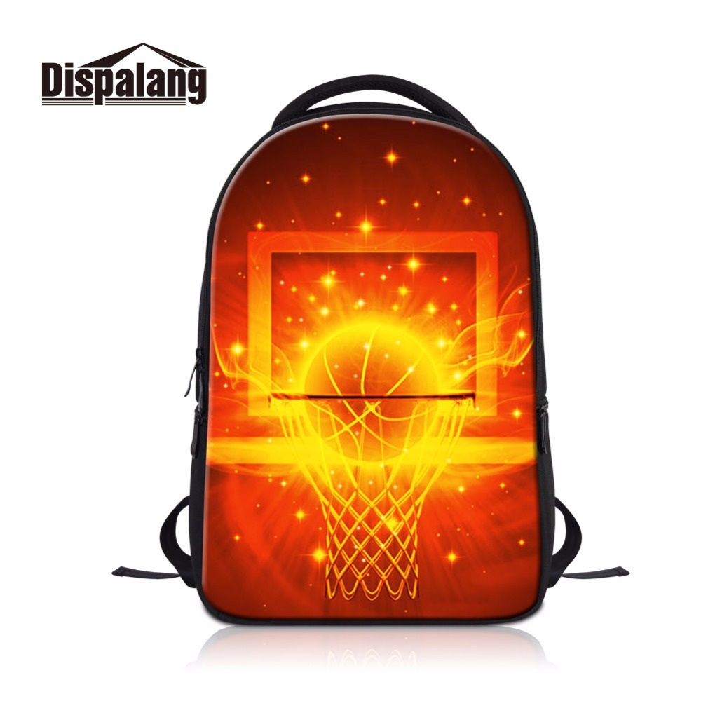 Dispalang balls Backpack Multi-function Laptop package school bags for teenagers men Class Cool Book Bags Footballs basketballs