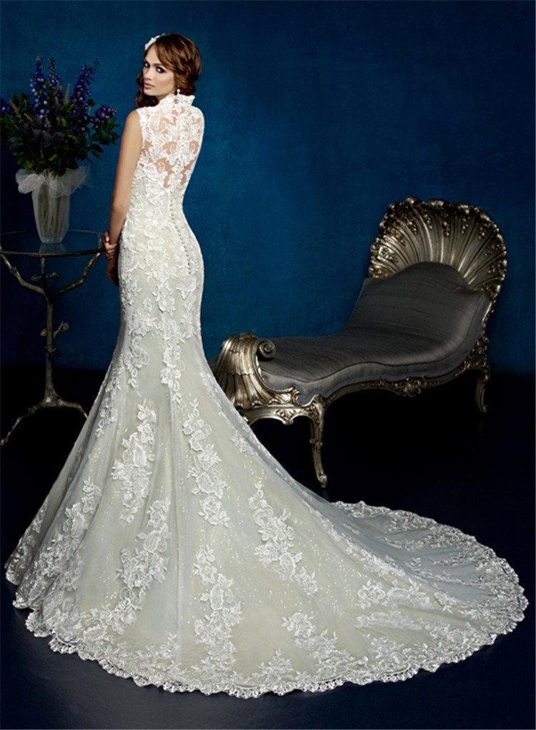 Great Mermaid Long Tail Wedding Dresses Dress Ideas With