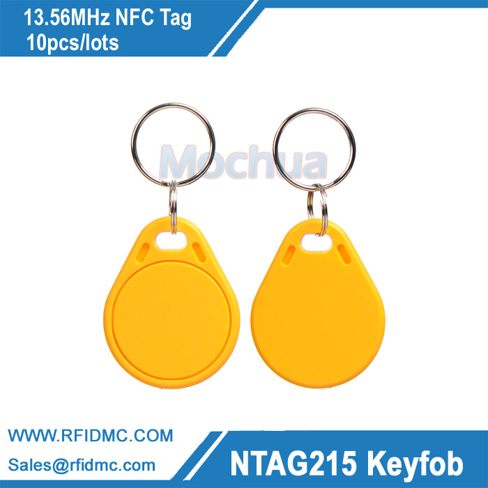 ABS key fob with Ntag215 chip NFC Forum type2 13 56mhz nfc key fob ntag215 key fob nfc tag nfc forum type2 tag