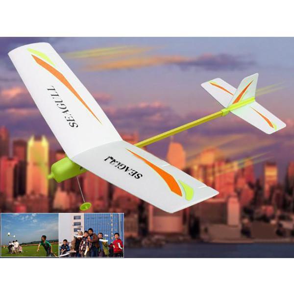 Новые электронные игрушки и детский продукт DIY электрическая Бумага самолет легко Самолет Модель для сборки Спорт на открытом воздухе и веселье