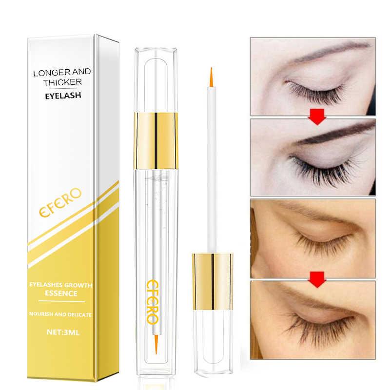 34ef584d9f7 ... EFERO Eyelash Growth Serum Curling Eyelash Enhancer Mascara Essence  Natural Longer Thicker Lashes Eyelashes for Makeup ...