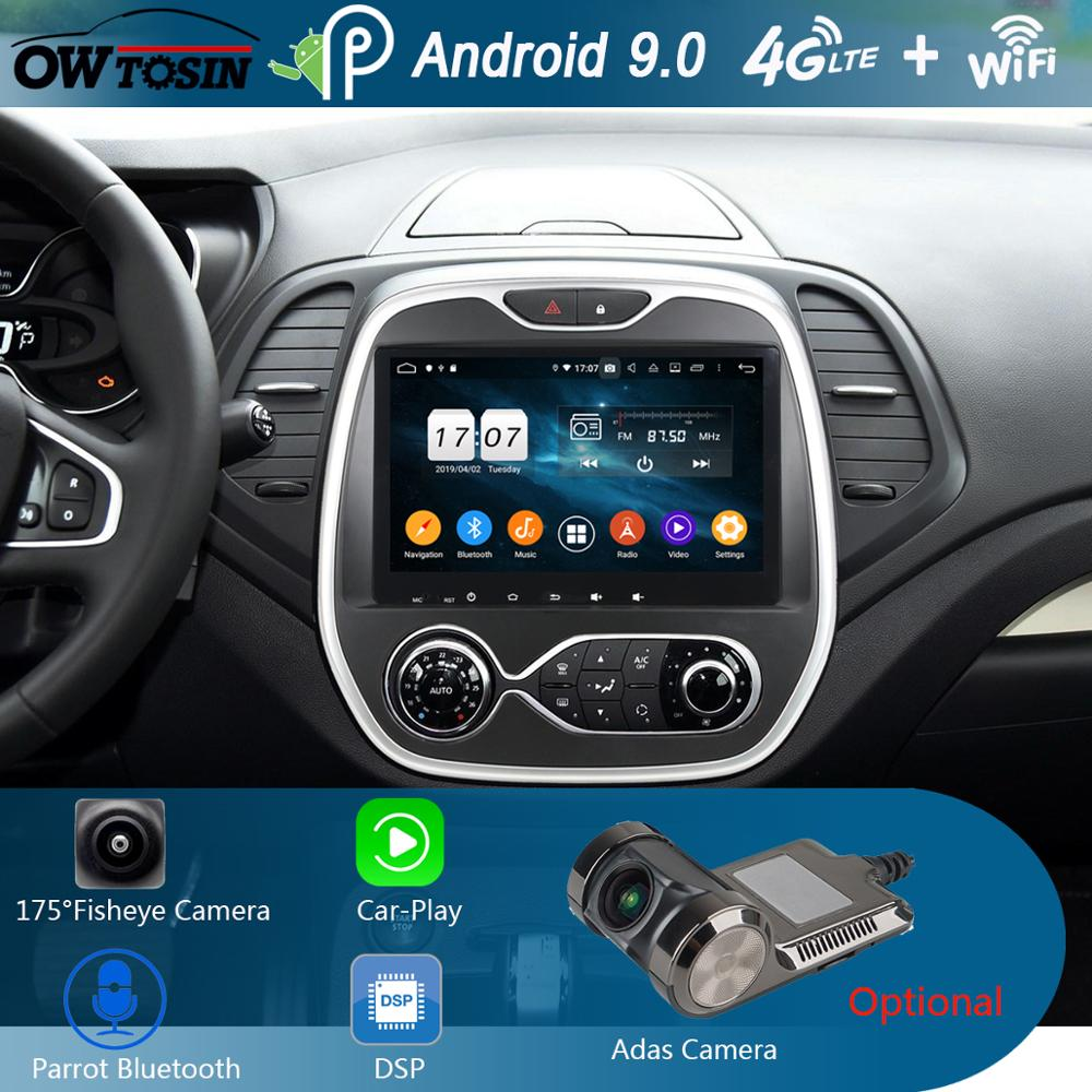 """9"""" IPS 8 Core 4GB+64GB Android 9.0 Car DVD Multimedia For"""
