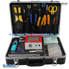 KING-83 Fiber jumper face grinding toolbox Fiber grinding and curing Fiber Construction Cleaner Toolbox DHL Free Shipping