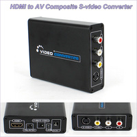 New 1080P HDMI to AV Composite S Video CVBS Video Converter HDMI to Composite 3RCA PAL/NTSC Switch for TV PC Blue Ray DVD