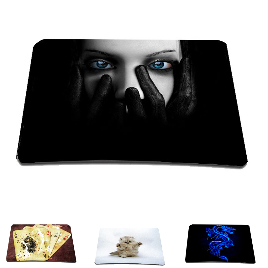 For overwatch Rubber Gaming Print Mousepad Mat Pad For Trackball Laser Optical Mouse Mice For league of legends Warcraft Dota 2 image