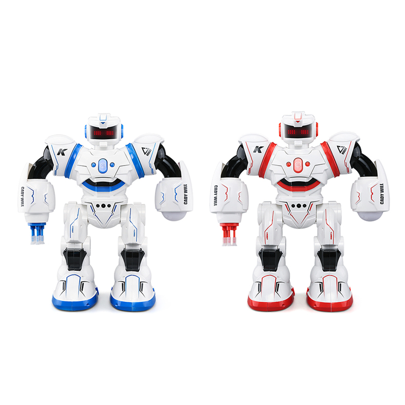 купить JJRC R3 Remote Controlled Intelligent Sensing Robot with Lights and Extra - long Standby Time RC Robot Toy недорого