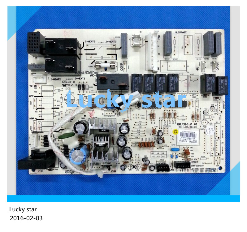 ФОТО 98% new for Gree Air conditioning computer board circuit board M316F3G 30133243 GRJ316-A good working