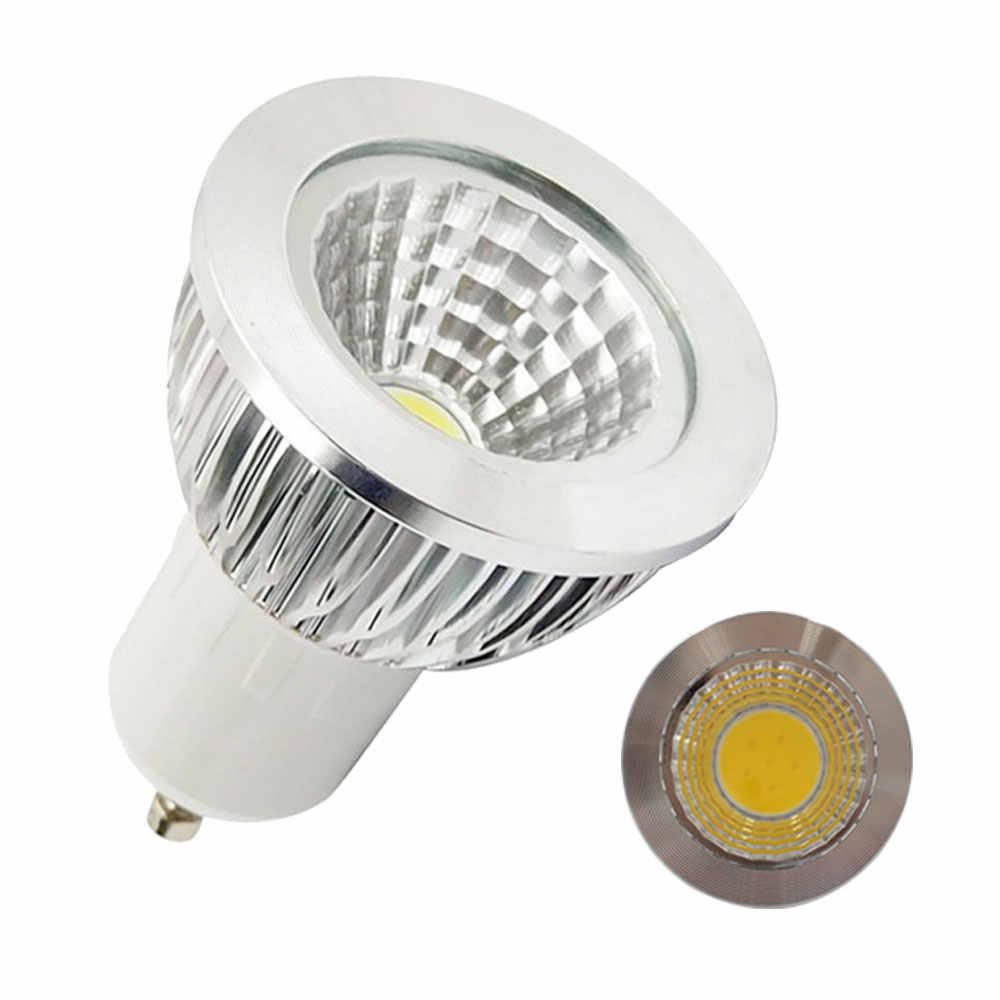 10Pcs COB GU10 3W 5W 7W dimmable LED Bulb SpotLight AC85-265V GU 10 spotlight COB led Cool White / Warm White COB Lighting